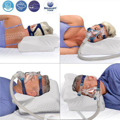 MOYEAH CPAP Pillow Anti Snore Memory Foam Contour Design Reduces Face Mask Pressure CPAP Supplies