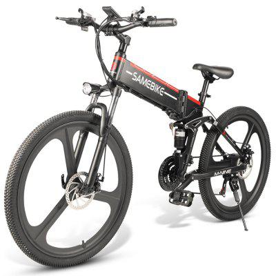 Samebike LO26 Moped Electric Bike Smart Folding Bike E-bike US Image