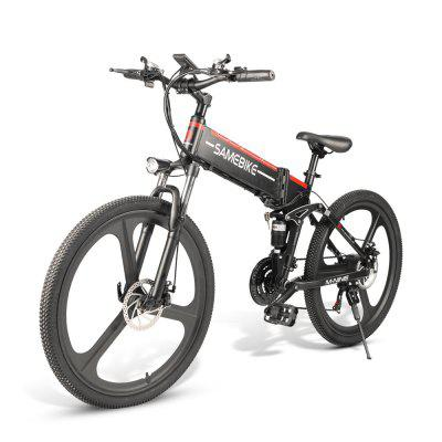 Samebike LO26 Moped Electric Bike Smart Folding Bike E-bike EU-kontakt