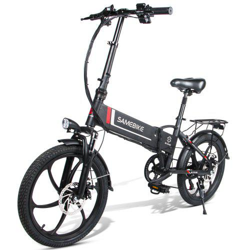 Samebike 20LVXD30 Smart Folding Electric Moped Bike E-cykel 3-5 Dage Ankomst