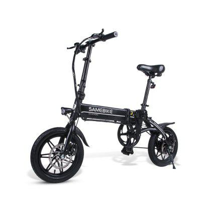 Samebike YINYU14 Smart Folding Bicycle Moped Electric Bike E-bike  US plug
