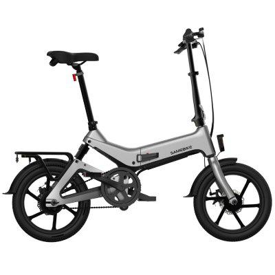 Samebike JG7186 16 Smart Folding Electric Moped Bike New style E-bike EU-US plug Image