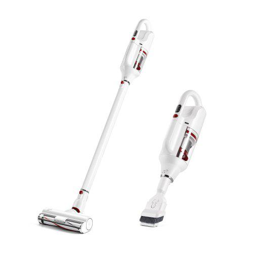 PUPPYOO T10 Home Cordless Vacuum Cleaner Brushless Motor LED 250W 17500Pa 2 in 1 HEPA 45MIn