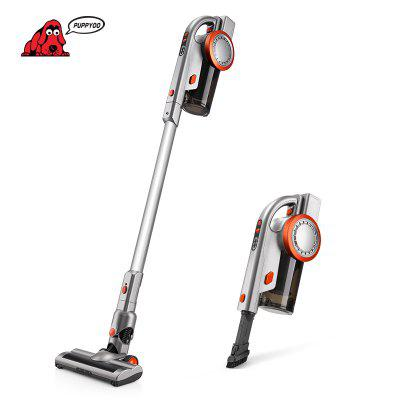 PUPPYOO A9 Cordless Vacuum Cleaner Brushless Motor LED 200W 45Min 17000pa