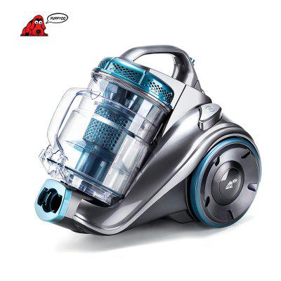 PUPPYOO WP9002F Powerfull Cylinder Vacuum Cleaner 800W 2.5L Transparent Dust Cup Cyclone System