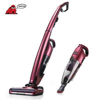 PUPPYOO WP511 Cordless Vacuum Cleaner  2 in 1 Lightweight Handheld Stick Vacuum with LED Light Image
