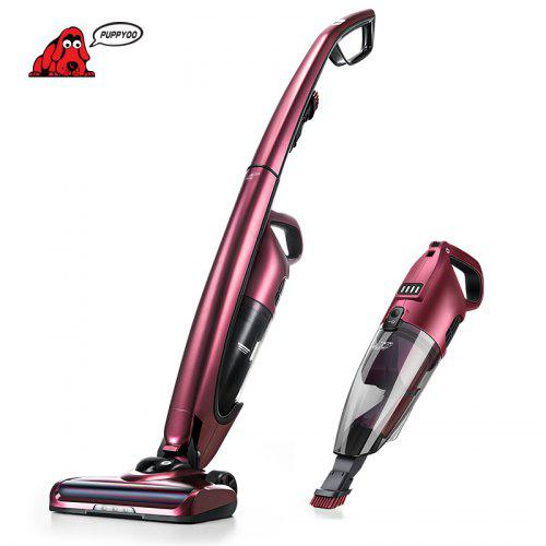 PUPPYOO WP511 Cordless Vacuum Cleaner 2 in 1 Lightweight Handheld Stick Vacuum with LED Light