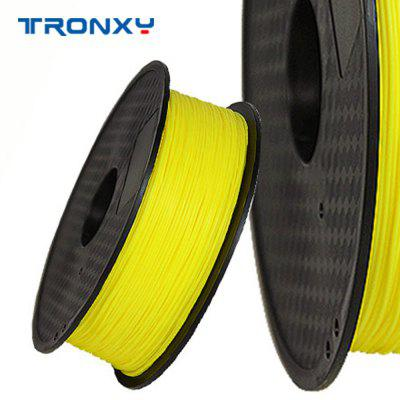 Tronxy 3D printer filament Pla 1.75mm 3D consumable - yellow