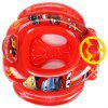 Disney Inflatable Kids Swimming Ring Girls Pool Floating Boat Red 72x80CM for Summer Water Fun
