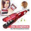 Kemei steam hair straightener Hair styling tools straightening irons flat iron Steampod wet and dry