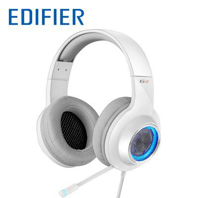 Edifier G4 USB Gaming Headset with Virtual 7.1 Surround Sound Retractable Boom Microphone LED Lights