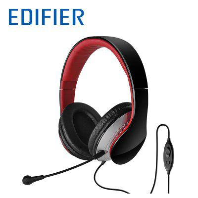 EDIFIER K830 Headset Comfortable 3.5mm Stereo Over-ear Headphone With Noise Isolation Volume Control