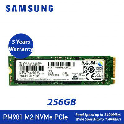 SAMSUNG PM981A 1TB PM981 256GB 512GB M.2 SSD Internal Solid State Drives M2 NVMe PCIe 3.0x4 Desktop