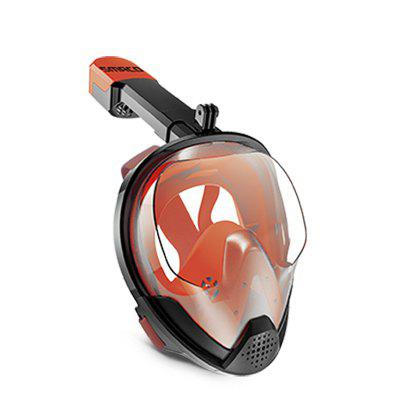 SMACO M8028  2019 NEW Full Face Snorkeling Mask Set Diving Equipment
