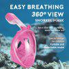 SMACO K-1 kids 2019 NEW Full Face Snorkeling Mask Set Diving Underwater Swimming Training