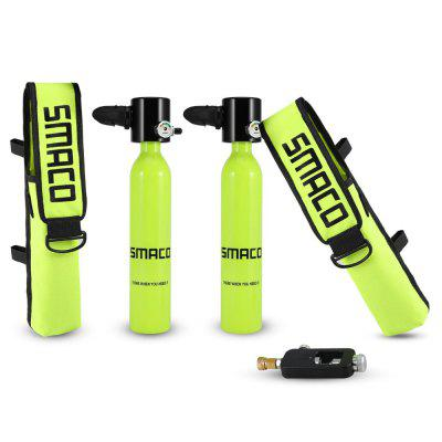 SMACO Diving Equipment S300 mini Scuba Oxygen Tank and Customized bag and refill adapter