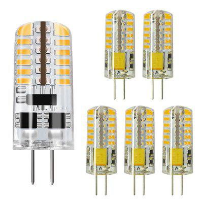 ZDM G4 5W LED White Light Lamps Non-dimmable Equivalent to 25W T3 Halogen Bulb Replacement LED Bulbs