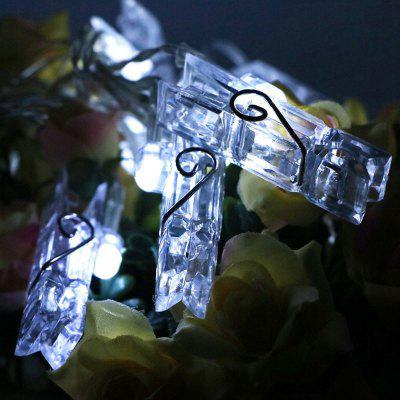 ZDM  Photo Clip String Led Lights USB 5V Led Picture Clip Light for Bedroom Party Wedding Birthday