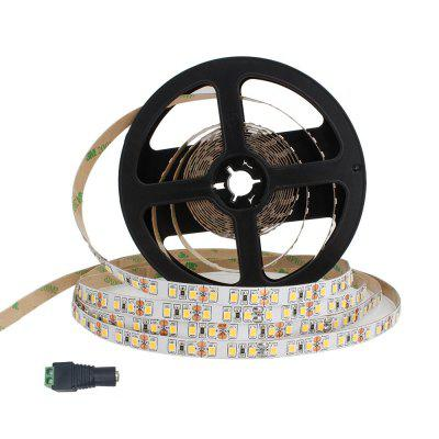 ZDM 5M 16.4ft 40W 600 leds 2835 SMD LED Strip Light DC12V Cole whtie Warm whtie Can pasted and cut
