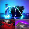 ZDM 16.4ft Waterproof 5050 RGB150 LED Strip Light 2811 IC Chasing Magic Dream Color Lights 2A Power