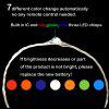 7-color fairy lamp 5-10M LED with IC automatic discoloration flickering copper wire lamp string DC5V
