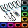 Waterproof USB TV Backlight LED Strip Lights 5050 30 leds RGB with 17 Key RF Remote Controller