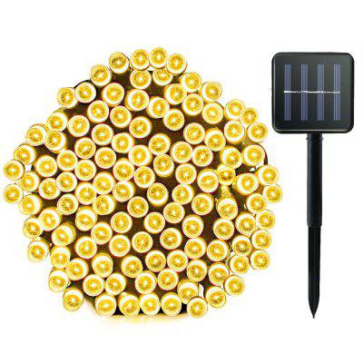 72foot 200 Led Solar String Lights Outdoor Garden Lighting 8 Mode  Waterproof Fairy Lamp Decoration
