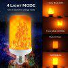3PCS 7W LED Flame Effect Light Bulb E27 Flickering Flame Energy Saving for Holiday decoration