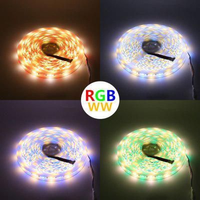 RGB and White Color All In One Strip Ligth 5M 5050 SMD LED With 40Keys IR Controller Power