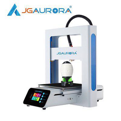 JGAURORA A3S 3D Printer Diy Kit Easy Assembly Touch Screen Build Size 205x205x205mm SD Card Printing