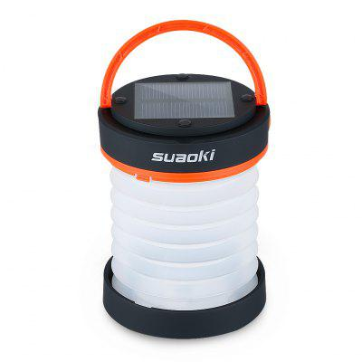 SUAOKI LED Foldable Camping Lantern Light with Rechargeable Battery