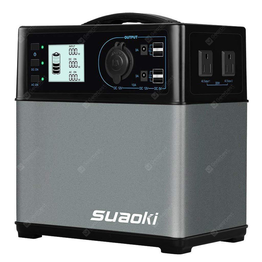 SUAOKI PS5B 400Wh Portable Power Station with DC AC USB Outputs