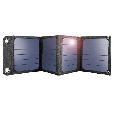 SUAOKI 14W Portable Foldable Solar Panels with 2A USB Output Port for Smartphones Tables and More