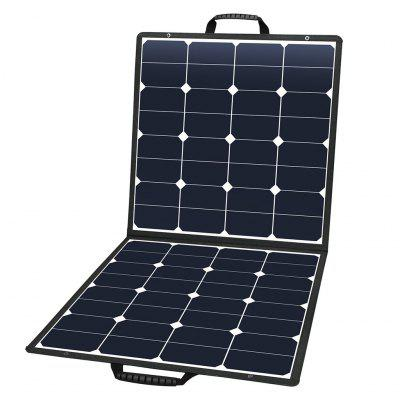SUAOKI 100W Portable Foldable Solar Panel with DC and USB Output