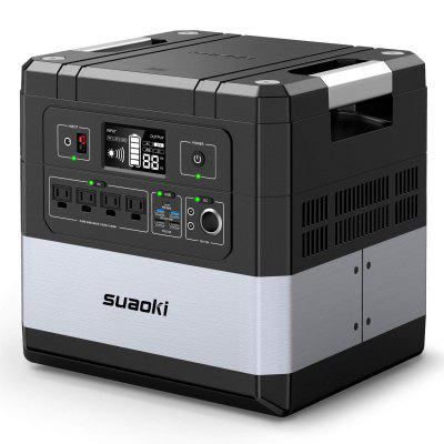 SUAOKI Ares G1000 1182Wh Portable Power Station Uninterruptible Power Supply 1000W AC Outlets