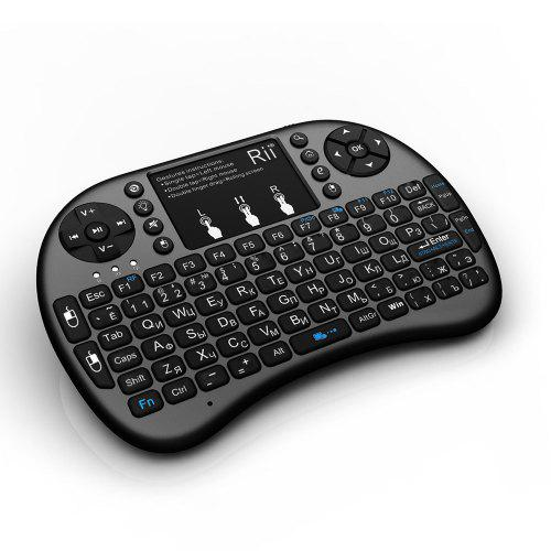 Mini 2.4G Wireless Keyboard and Mouse Combo w// Touchpad 68 Keys for Smart TV Box