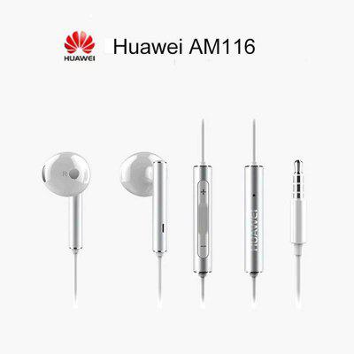 HUAWEI Original AM116 Earphones Half In-ear Answering Phone for Android Xiaomi OPPO VIVO samsung