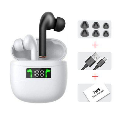 Фото - Tourya TWS Wireless Earphones J3 Pro Waterproof Bluetooth Earbuds HD Stereo Headphones Smart Touch  Built-in Mic for iPhone Xiaomi barbara boehm dale boehm smart grid man in the middle