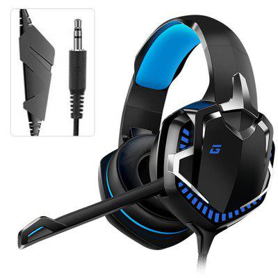 Фото - Tourya Gaming Headphone HT01 Gamer Headset 7.1 Surround Sound Wired Headphones With Mic LED Light  for Computer PS4 PC christmas background vinyl photography backdrops computer printed christmas fire place tree and gift box for photo studio st 522