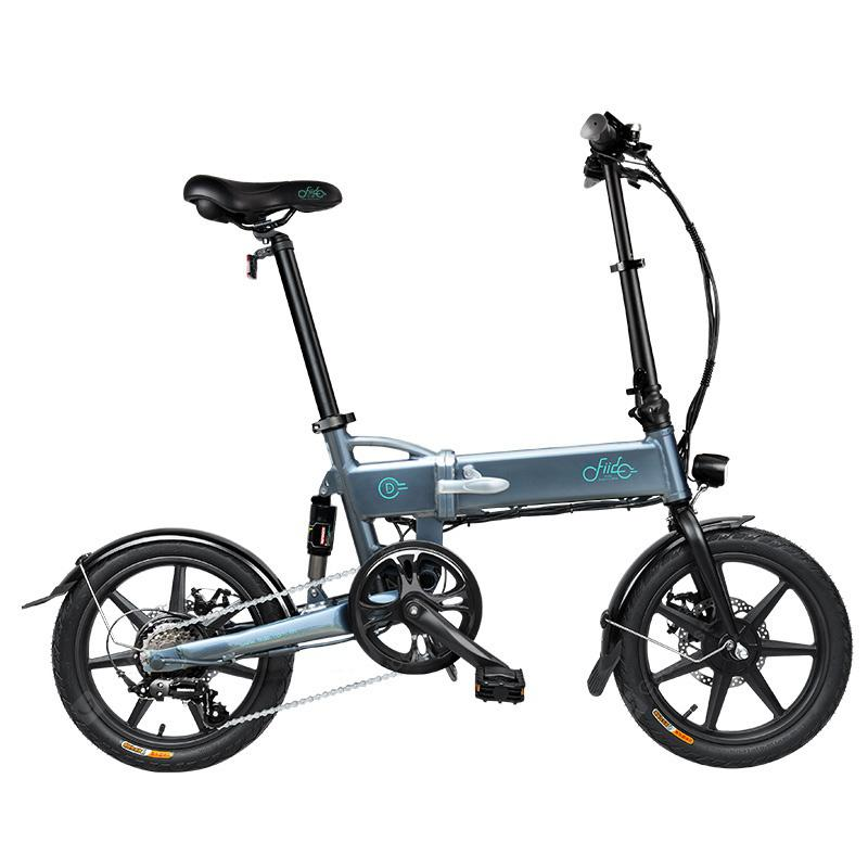 FIIDO D2s Shifting Version Variable speed Folding Moped Electric Bike 7.8Ah 16in Wheel From Poland - Dark Gray Poland