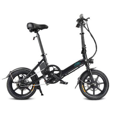 FIIDO D3 Mini Aluminiumlegierung Smart Folding Electric Bike - Weiß Polen