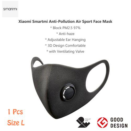 Smartmi KN95 Face Cover Mask PM2.5 Haze with Ventilating Valve Filter non-medical From Xiaomi Youpin