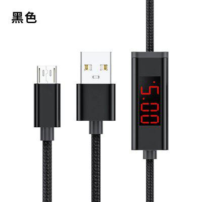 TOPK AC36 Aoltage and Current DisplayFast ChargingCable for IPhone MicroType C Xiaomi Huawei