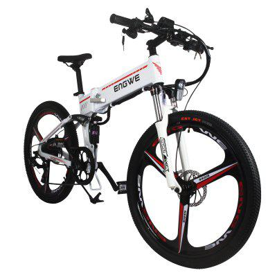 ENGWE Folding Full Suspension Electric Bike with Integrated Wheel and Dual Disc Image