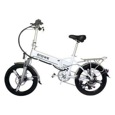 ENGWE 400W Folding Electric Bike with 48V 12.5AH Removable Lithium-Ion Battery and 7 Speed Gear