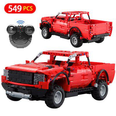 CaDA C51005W 549PCS DIY Building Blocks Bricks Toys RC Car Truck Creator Model for Children Gift