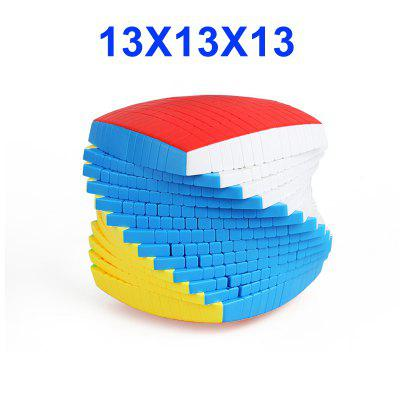 13 Layers 128mm Stickerless 13x13x13 Magic Cube Speed Puzzle 13x13 Cube Educational Toys Gift