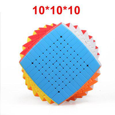 10 Layers Stickerless 10x10x10 Magic Cube Speed Puzzle 10x10 Cube Educational Toys Gift