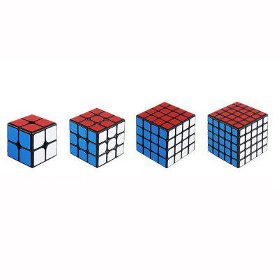 Mr.M 2x2x2 3x3x3 4x4x4 5x5x5 Magnetic Magic Cube Speed Puzzle 2x2 3x3 4x4 5x5 Cube Educational Toys