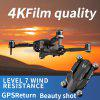 ICAT3 Foldable GPS Brushless WIFI FPV RC Drone Quadcopter with 4K Ultra HD Camera Optical Flow